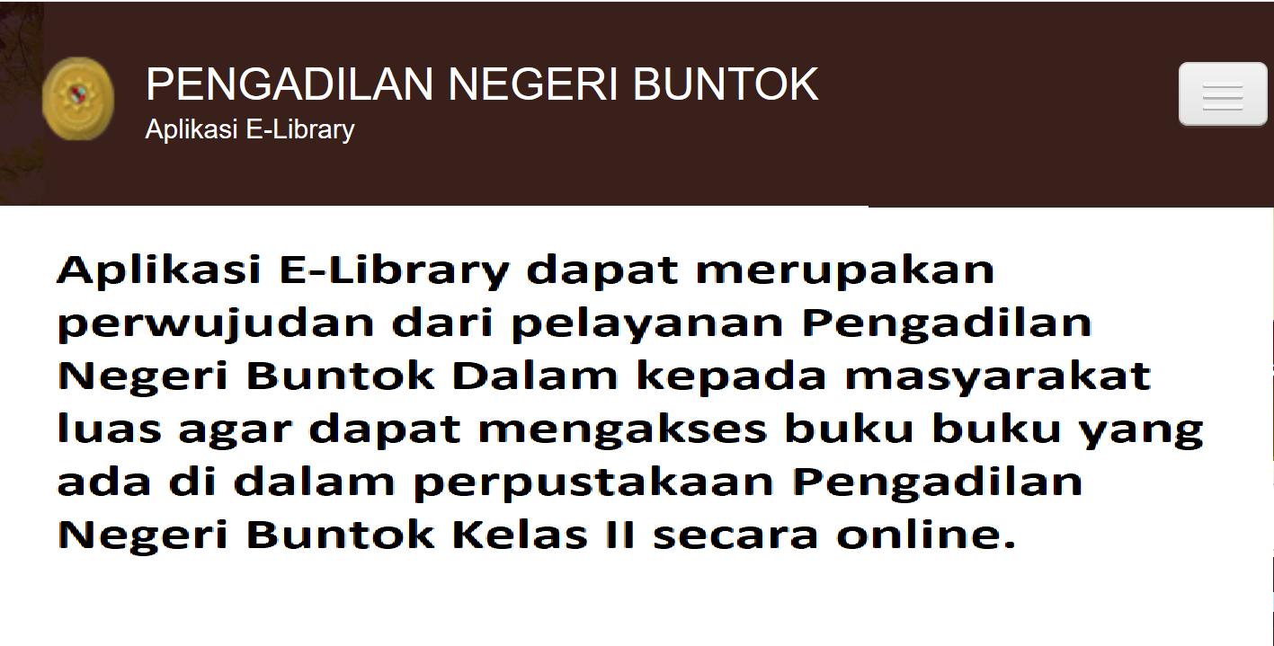 APLIKASI E LIBRARY